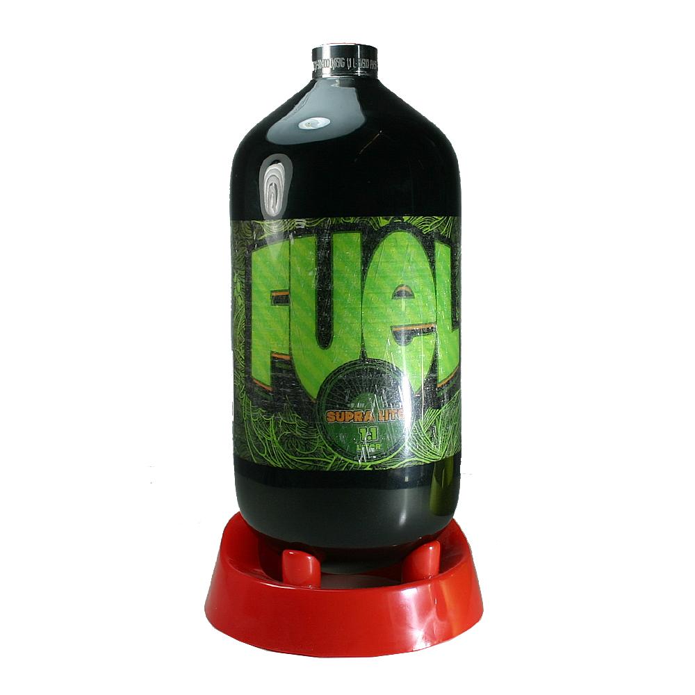 fuel 1 1ltr supralite composite flasche 300 bar schwarz hp flaschen hp co markierer. Black Bedroom Furniture Sets. Home Design Ideas